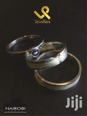 Custom Made Sterling Silver 3 Piece Bride N Groom Wedding Ring | Jewelry for sale in Nairobi, Nairobi Central