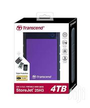 4TB Transcend External HDD | Accessories for Mobile Phones & Tablets for sale in Homa Bay, Mfangano Island
