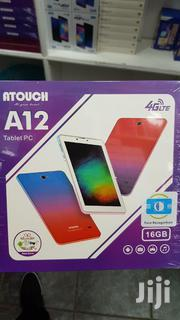 Kids Tablet Atouch A12 16gb 1gb Dual Sim Card 4G Android 6 Free Gift | Toys for sale in Nairobi, Nairobi Central