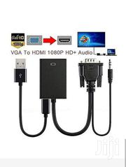 VGA To HDMI Converter Adapter Cable With Audio Output | Accessories & Supplies for Electronics for sale in Nairobi, Nairobi Central