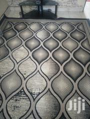 Unique Grey And Black Living Room Mat....6months Used. | Home Accessories for sale in Mombasa, Majengo