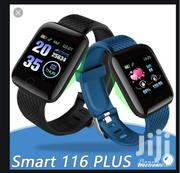 116 Plus Smart Band Fitness Tracker + A Free Gift | Smart Watches & Trackers for sale in Nairobi, Nairobi Central