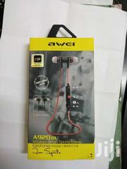 AWEI 920BL Bluetooth Built-in Mic Earphone | Accessories for Mobile Phones & Tablets for sale in Nairobi, Nairobi Central