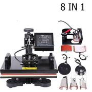 360 Degree 8 In 1 Heat Press Sublimation Transfer Machine | Printing Equipment for sale in Nairobi, Nairobi Central