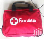 Small Red Canvas First Aid Kit | Safety Equipment for sale in Nairobi, Nairobi Central