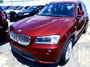 BMW X3 2012 Red | Cars for sale in Mombasa, Mkomani
