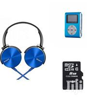 Extra Bass With Mp3 Player And Free Memory Card | Headphones for sale in Nairobi, Nairobi Central