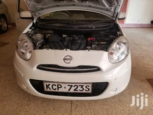 Nissan March 2011 White