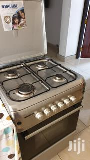 Electric Bruhm Oven Plus 4 Gas Burners | Kitchen Appliances for sale in Mombasa, Shimanzi/Ganjoni