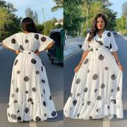 Dotted Long Dress   Clothing for sale in Mombasa, Bamburi