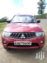 Mitsubishi L200 2008 2.5 DI-D Double Cab Red | Cars for sale in Laikipia, Nanyuki