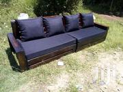 Simple Modern Quality 4 Seater Pallet Sofa | Furniture for sale in Nairobi, Ngara