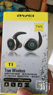 Awei  T1 TWS Bluetooth V4.2 Mini Earphones With Microphone | Audio & Music Equipment for sale in Nairobi, Nairobi Central