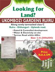 Prime 1/4 Acre at Ukombozi Gardens Ruiru | Land & Plots For Sale for sale in Kiambu, Township C