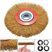 Wire Polishing Brush Wheel Steel Durable For Metal Cleaning 5''/8'' | Hand Tools for sale in Nairobi, Nairobi Central