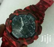Military Red Gshock Watch Quality Timepiece | Watches for sale in Nairobi, Nairobi Central