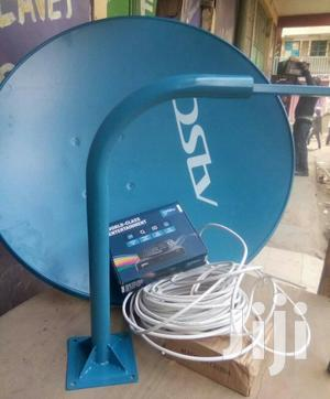 Dstv HD Complete KIT (Model 6S- Black) + 1 Months Compact Subs + Dish
