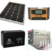 100W Solar Kit With Panel, Battery, Inverter , Controller | Solar Energy for sale in Homa Bay, Mfangano Island
