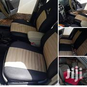 Heavy Duty Fabric And Cotton Baije Black Seat Covers | Vehicle Parts & Accessories for sale in Nairobi, Nairobi Central