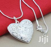 Silver Chain With Heart Shaped Locket | Jewelry for sale in Nairobi, Nairobi West