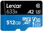 Lexar 512GB Micro Sd Card 633x Microsdxc UHS-I Memory Cards | Accessories & Supplies for Electronics for sale in Nairobi, Nairobi Central