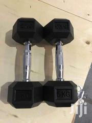 Fixed Rubber Dumbells | Sports Equipment for sale in Nairobi, Nairobi Central