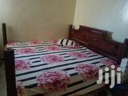 6 By 6 Mvule Bed With Da Matress | Furniture for sale in Mombasa, Tudor