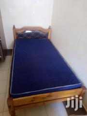 Wooden Bed With Mattress | Furniture for sale in Nairobi, Nairobi Central