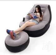 Inflatable Seat And Ottoman Plus Free Pump   Furniture for sale in Nairobi, Nairobi Central