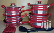 Nonstick Coockware Colored Pots ( Red) | Kitchen & Dining for sale in Nairobi, Nairobi Central