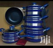 Blue Nonstick Pots 10pcs | Kitchen & Dining for sale in Nairobi, Nairobi Central