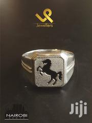 Unique Men Prancing Horse Sterling Silver Fashion Ring | Jewelry for sale in Nairobi, Nairobi Central