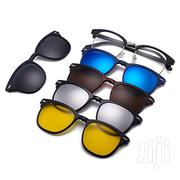 5-In-1 Magnetic Polarized Clip-On Sunglasses | Clothing Accessories for sale in Nairobi, Nairobi Central