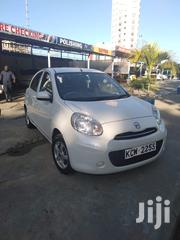 Nissan March 2012 White | Cars for sale in Mombasa, Shanzu
