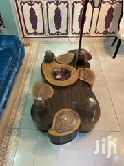 Glass Table With 4 Stools | Furniture for sale in Mombasa, Likoni