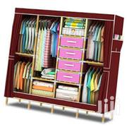 A Portable Wooden Frame Wardrobe. | Furniture for sale in Nairobi, Harambee