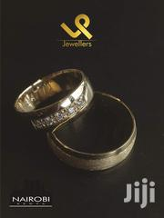 Custom Made Classic 18k Gold Couple Bride N Groom Wedding Ring Bands | Jewelry for sale in Nairobi, Nairobi Central