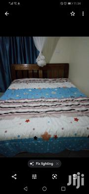 5by6 Bed Good Quality And Mattress For Sale   Furniture for sale in Kiambu, Riabai