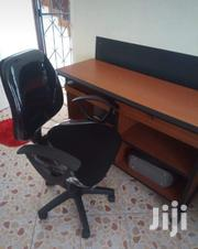 Office Table And Chair Used But In Good Condition At Very Good Price | Furniture for sale in Mombasa, Tononoka