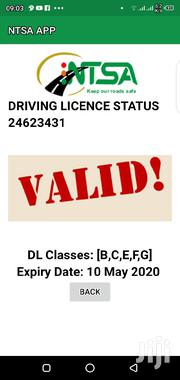 BCEFG Driving Lincence | Driver CVs for sale in Isiolo, Bulla Pesa
