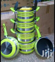 Green 10pcs Nostick Cookware | Kitchen & Dining for sale in Nairobi, Nairobi Central