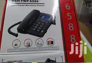 HOT Fixed Wireless Twin Sim GSM Desk Phone SIM Card | Home Appliances for sale in Nairobi, Nairobi Central