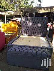 5 by 6 Bed With a Storage Ottoman | Furniture for sale in Nairobi, Ngara