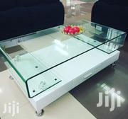 White Curved Glass Top Table | Furniture for sale in Nairobi, Nairobi Central