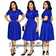Royal Blue Skater Dress | Clothing for sale in Nairobi, Nairobi Central