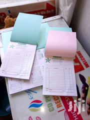 Receipt Books Printing Service,Hardcover Book, Children Book,   Other Services for sale in Nairobi, Nairobi Central