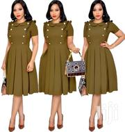 Jungle Green Skater Dress | Clothing for sale in Nairobi, Nairobi Central