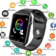 A1 Smartwatch / Phone Watch (Sim + Memcard Slots) | Smart Watches & Trackers for sale in Nairobi, Nairobi Central