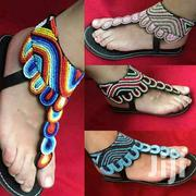 Maasai Designed Lady Sandals | Shoes for sale in Nairobi, Utalii