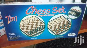 2 In 1 Chess Board With Draft